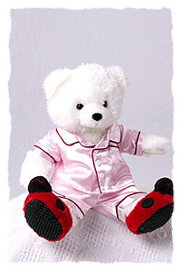 doll pajamas, bears pajamas